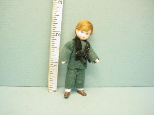"Miniature Young Boy ""Konrad"" #24401 Handcrafted Doll , Erna Meyer"