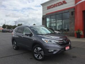 2016 Honda CR-V Touring - NAVI - LEATHER - SUNROOF