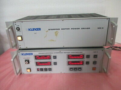 Klinger Mc4 Programmable Stepping Motor Controller W Md4 Power Driver 451271