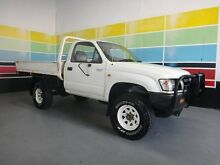 2002 Toyota Hilux KZN165R (4x4) White 5 Speed Manual 4x4 Wangara Wanneroo Area Preview