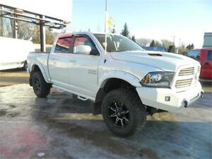 2013 DODGE RAM 1500 4X4 /LEATHER ONLY 116 000KMS