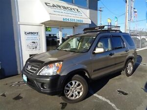 2005 Honda CR-V EX 4WD, Roof Rack, Local, No Accidents