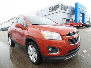 2014 Chevrolet Trax LTZ, PST paid, leather, sunroof, rem. start,