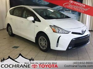 2015 Toyota PRIUS V CERTIFIED!!! FUN FUEL EFFICIENT & FULL OF CA