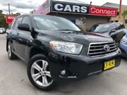 2008 Toyota Kluger GSU40R KX-S (FWD) Black 5 Speed Automatic Wagon Edgeworth Lake Macquarie Area Preview