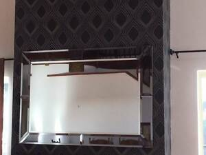 Large Beveled Edged Mirror Sorrento Joondalup Area Preview