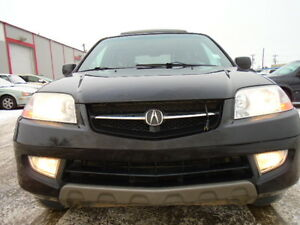 2002 Acura MDX LUXURY PKG-LEATHER-SUNRROF--DRIVES EXCELLENT