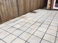 Paving Slabs for Patio or Shed Base (Qty: 150)