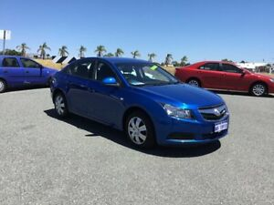 2009 Holden Cruze JG CD Blue 6 Speed Automatic Sedan