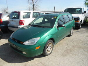 2002 Ford Focus Wagon SE-Sport;NO ACCIDENT