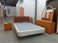 Vente de déménagement d'un beau set de Chambre Double de 6 pièce