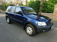 HONDA CRV 2.0 LS==ONE OWNER FROM NEW==AIR CONDITIONING==ELECTRIC SUNROOF