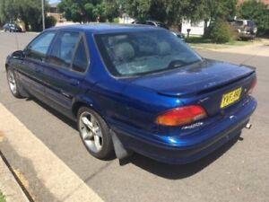1998 Ford Falcon EL Futura Blue 4 Speed Automatic Sedan