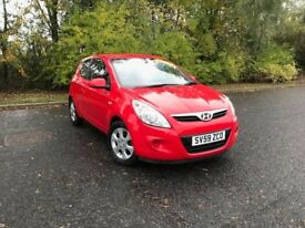 2009 HYUNDAI I20 COMFORT RED PETROL 82,000 MILES IDEAL FIRST CAR MUST SEE £2750 OLDMELDRUM