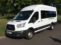 Ford Transit 2.2 TDCi 460 L4H3 Bus 4dr (EU6, HDT, 17 Seat) Minibus with 2 year warranty