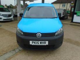 Volkswagen Caddy 1.6 Tdi 102Ps Startline Van Euro 5 DIESEL MANUAL BLUE (2015)