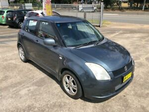 2007 Suzuki Swift RS415 Hatchback 5dr Auto 4sp 1.5i Navy Blue Automatic Hatchback Bass Hill Bankstown Area Preview
