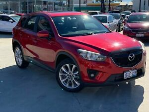 2014 Mazda CX-5 KE1021 MY14 Grand Touring SKYACTIV-Drive AWD Red 6 Speed Sports Automatic Wagon Palmyra Melville Area Preview