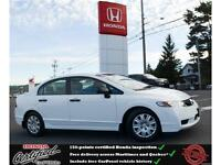 2010 Honda Civic DX, Power Windows, Low Mileage !!