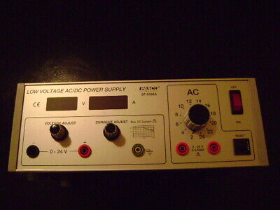 Low Voltage Pasco Acdc Power Supply Model Sf-9584a Labteachingeducational