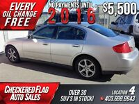 2004 Infiniti G35 LUXURY-NAVI-SROOF-AUTOMATIC