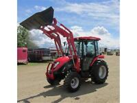 New 2015 TYM T454 - 46 HP Ranch Tractor w. Cab & Front Loader