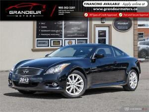 2012 INFINITI G37 X Coupe Premium |NO ACCIDENTS|CERTIFIED|WARRAN