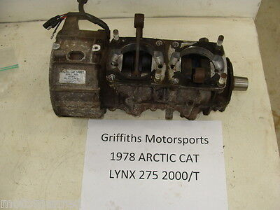 78 ARCTIC CAT lynx 275 2000/T 79 80 jag? puma? BOTTOM END CRANK STATOR MAGNETO