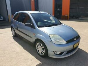 2005 Ford Fiesta WP LX Blue Automatic Hatchback Cardiff Lake Macquarie Area Preview