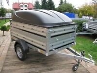 LAST ONE Brand new Thule Brenderup 1205s car box trailer with double side and ABS lid
