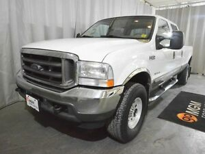 2002 Ford F-350 Lariat 4x4 SD Crew Cab 172 in. WB SRW HD