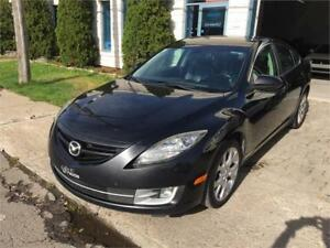 2010 MAZDA 6 GT ***CUIR+BLUETOOTH+XENON+4 CYLINDRES+4900$***