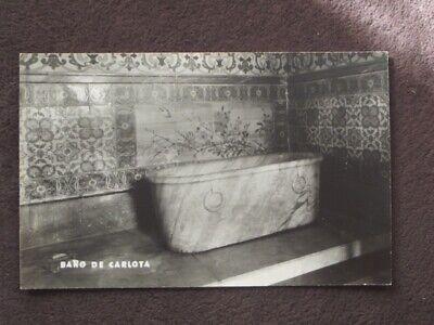 BAN DE CARLOTA - BATH Vtg PHOTO (Mexico Ban)