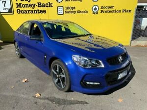 2016 Holden Commodore VF II MY16 SV6 Black Slipstream Blue 6 Speed Sports Automatic Sedan Invermay Launceston Area Preview
