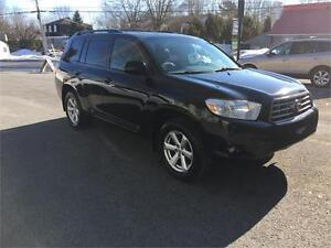 2009 Toyota Highlander  **CUIR**CAMERA RECUL**7 PASSAGERS