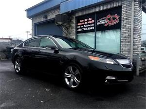 2012 Acura TL SH-AWD W/TECH PKG ***MANUAL 6 SPEED***
