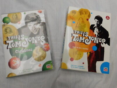 This is TOM JONES dvd Rock n roll LEGENDS & rare ORIGINAL CHRISTMAS SPECIAL show