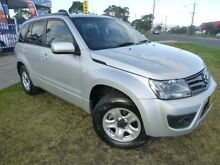 2013 Suzuki Grand Vitara JT MY13 Urban (4x2) Silky Silver 4 Speed Automatic Wagon Brownsville Wollongong Area Preview
