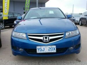 2005 Honda Accord MY05 Upgrade Euro Blue 5 Speed Sequential Auto Sedan Fyshwick South Canberra Preview