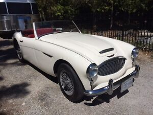 **  LOVELY,  VERY SOLID  AUSTIN  HEALEY 3000 !!! **