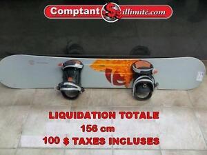 Liquidation chez Comptant illimite.com Liquidation Planche à neige