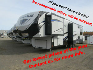 2017 Avalanche 300RE Lowest financing rates.