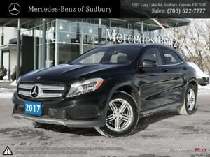 2017 MERCEDES BENZ GLA 250 4MATIC - THIS COMPACT LUXURY SUV COME