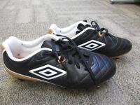 Boys Umbro Football Boots - Size 5 - Brand New - Still Boxed