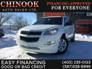 2011 Chevrolet Traverse LS AWD 7-Seater,OnStar,CD Player,Cruise