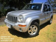 2003 Jeep Cherokee KJ Limited (4x4) Silver 4 Speed Automatic Wagon Hampton East Bayside Area Preview