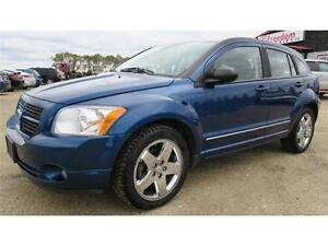 2009 Dodge Caliber SXT with Navigation, Bluetooth Phone & more!
