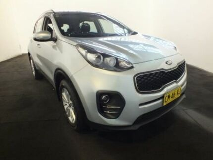 2016 Kia Sportage QL SI (FWD) Silver 6 Speed Automatic Wagon Clemton Park Canterbury Area Preview