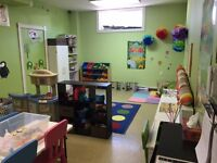 Full Time Day Care Spaces for Ages 2-12