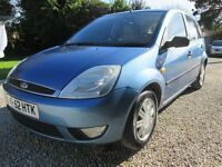 Ford Fiesta 1.4 Ghia 5 Door, 82000 Miles, Service History, 52 reg, Immaculate Condition Throughout